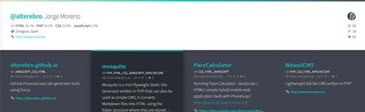 Github User Page Generator